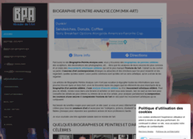 biographie-peintre-analyse.com