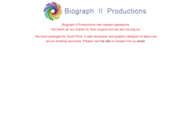 biographiiproductions.com