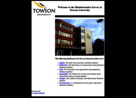 bioinformatics.towson.edu