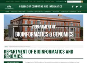bioinformatics.uncc.edu