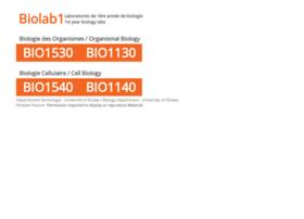 biolab1.uottawa.ca