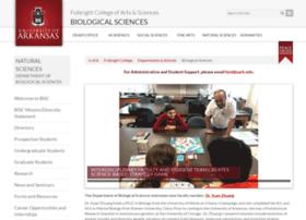 biology.uark.edu