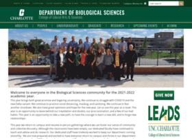 biology.uncc.edu