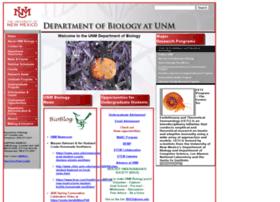 biology.unm.edu