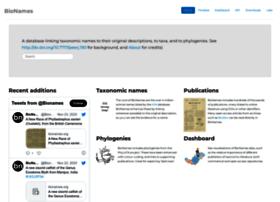 bionames.org