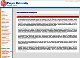 biophysics.puchd.ac.in