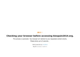 biospain2014.org