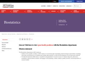 biostatistics.mdanderson.org