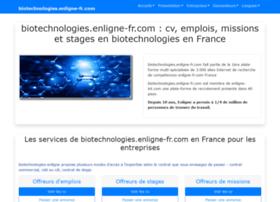 biotechnologies.enligne-fr.com
