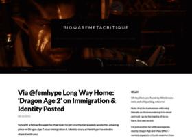biowaremetacritique.wordpress.com