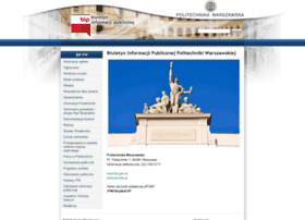 bip.pw.edu.pl