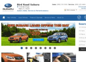 birdroad.subaru.com