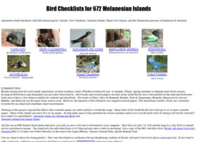 birdsofmelanesia.net