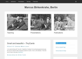 birkenkrahe.com