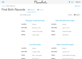 birth-records.mooseroots.com