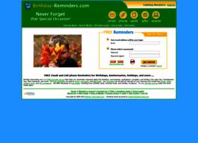 birthday-reminders.com