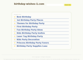 birthday-wishes-1.com