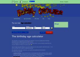 birthdaycalculators.com