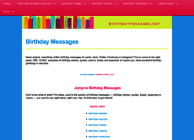 birthdaymessages.net