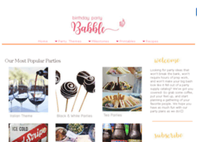 birthdaypartybabble.com