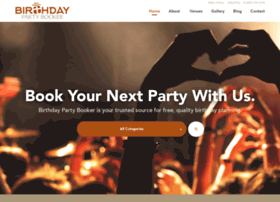 birthdaypartybooker.com