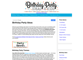 birthdaypartyideas4kids.com