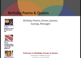 birthdays-poems.com