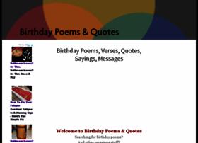 birthdays-poems.com