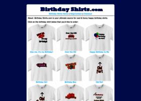 birthdayshirts.com
