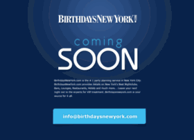 birthdaysnewyork.com