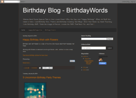 birthdaywords.blogspot.com