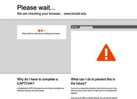 birzeit.edu