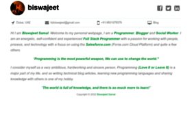biswajeetsamal.com