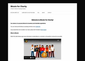 bitcoinforcharity.com