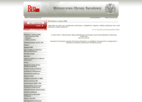 biuletyn.mon.gov.pl