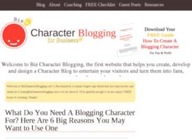 bizcharacterblogging.com