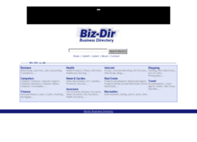 bizdirbusinessdirectory.co.uk