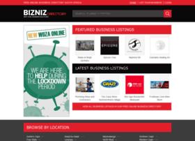 biznizdirectory.co.za