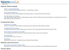 bjoernsworld.de