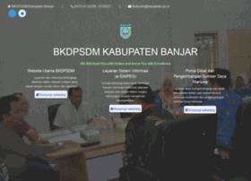 bkd.banjarkab.go.id