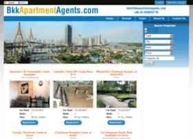 bkkapartmentagents.com
