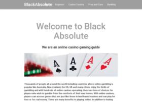 blackabsolute.com