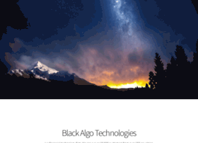 blackalgotechnologies.com