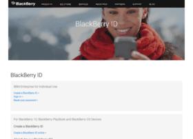blackberryid.blackberry.com
