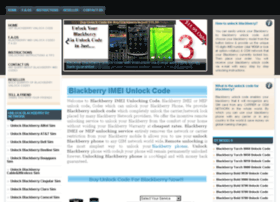 blackberryimeinunlockingcodes.com