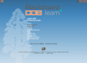 blackboard.cos.edu