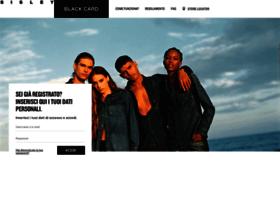 blackcard.sisley.com