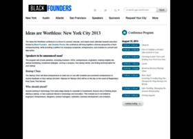 blackfoundersconference.com