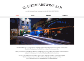 blackfriarswinebar.co.uk