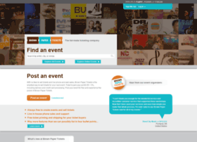 blackfriday2014.brownpapertickets.com